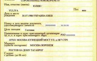 Виза в Россию для граждан Центральноафриканской Республики