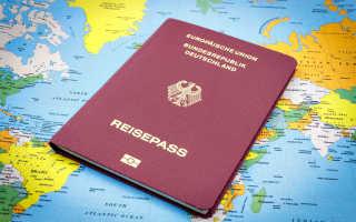 Анкета на получение гражданства Германии в 2021 году