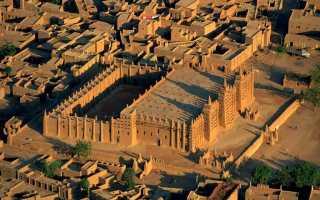 Великая мечеть Дженне в Дженне — подробная информация с фото
