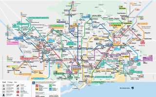 30 главных достопримечательностей Барселоны – фото и описаниее, карта