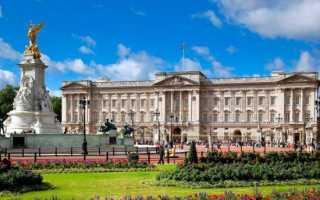 Букингемский дворец — Лондон – Путешествия вокруг планеты
